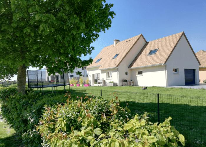 vue extérieur maison 140m2 r+1