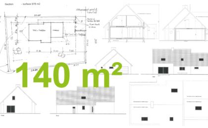 maison traditionnelle à étage 140m2 habitables