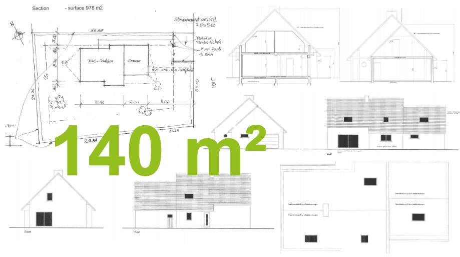 Plan Maison 140 M2 Etage | Ventana Blog