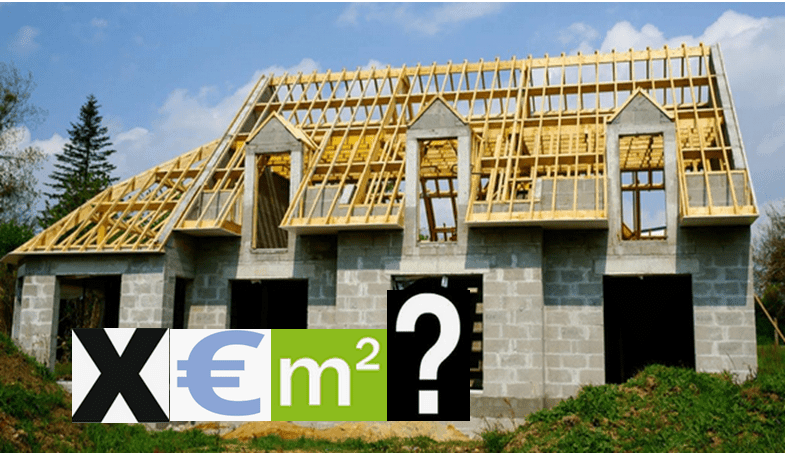Quel est le prix au m2 d'une maison neuve: exemple 140m² avec étage.