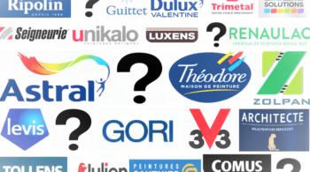 Logos de marques de peinture