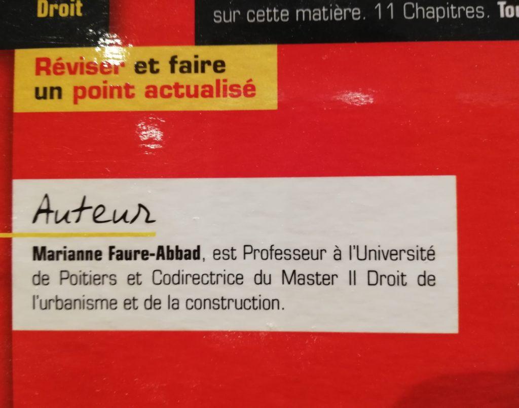 qui est Marianne Faure-Abbad