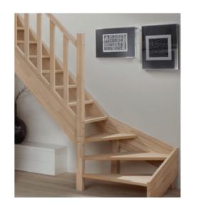 vitrifier un escalier en hêtre