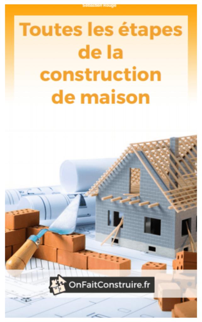 étapes de construction d'une maison