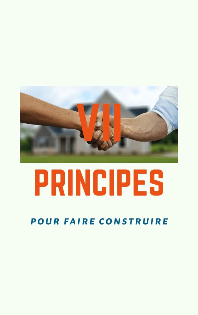 principes pour faire construire