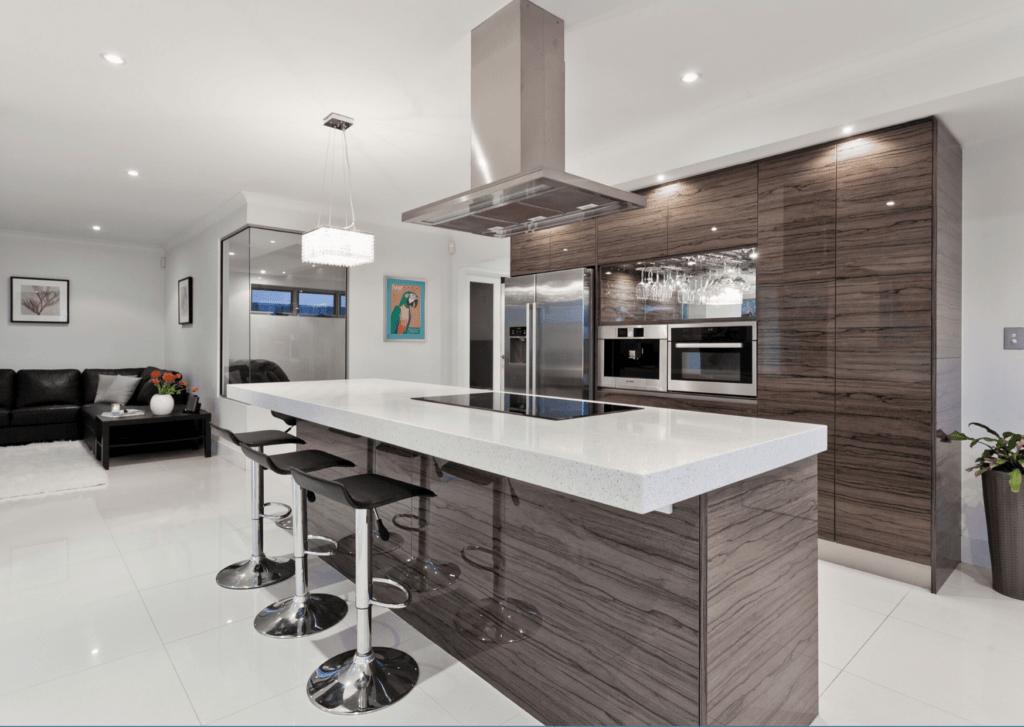 exemple d'aménagement de cuisine maison neuve
