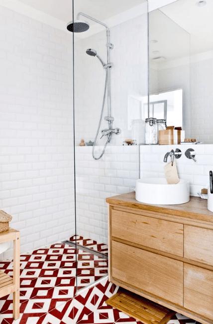 douche italienne contemporaine pas chère