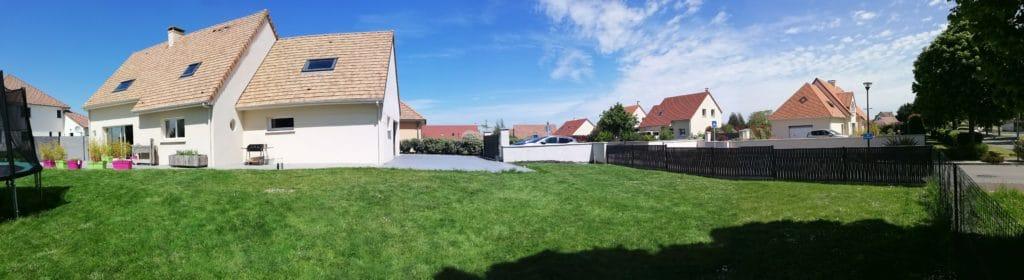 planification d'une construction de maison en lotissement