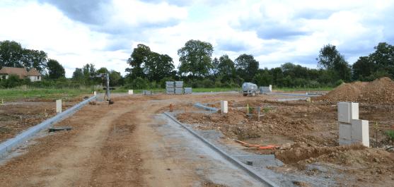 aménagements voiries selon timing d'achat du terrain à bâtir