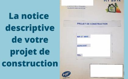 notice descriptive construction maison