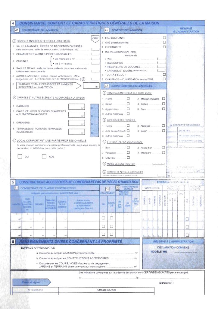 Formulaire H1 page 3