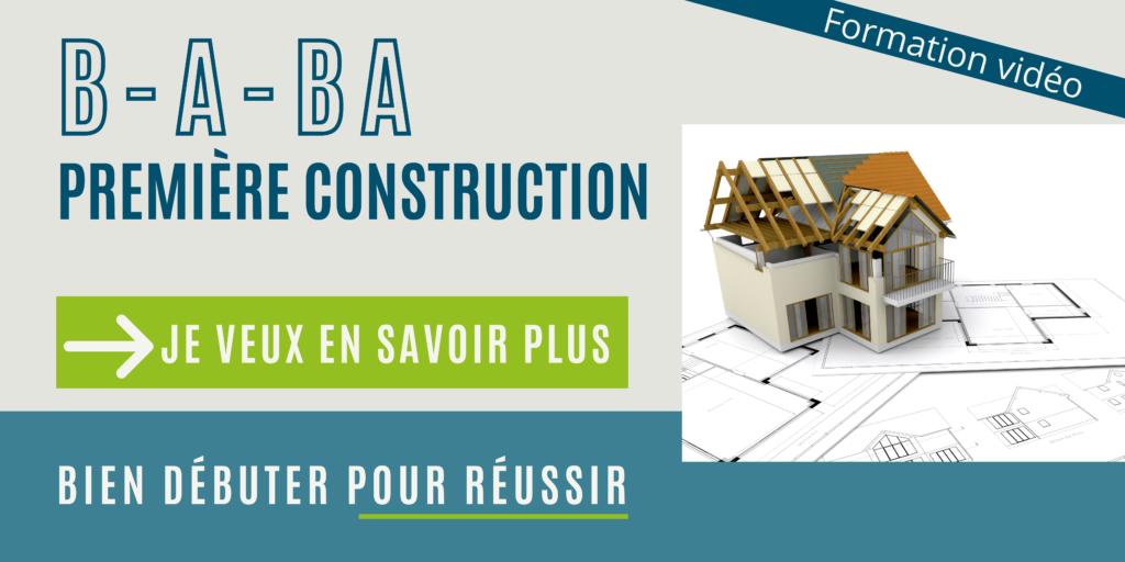 bannière formation construction maison