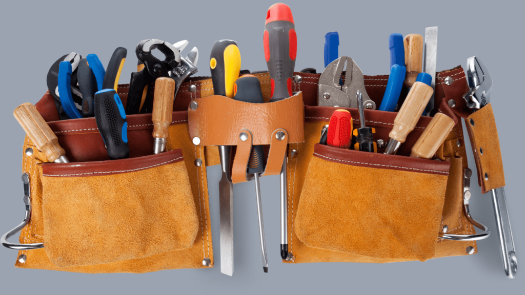 outils travaux finitions
