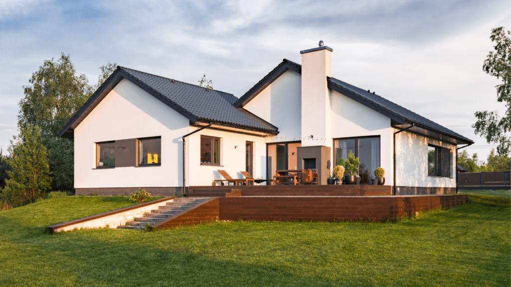 forme d'une maison standard
